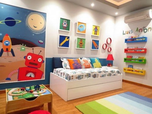 Cores para o quarto do seu filho, quais são as ideais?