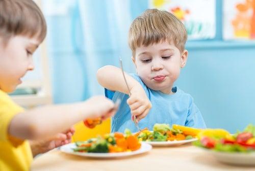 como saber as porções recomendadas de alimentos