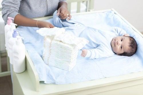 fazer higiene no pênis do bebê