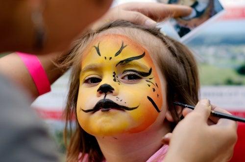 Maquiagens infantis para Halloween