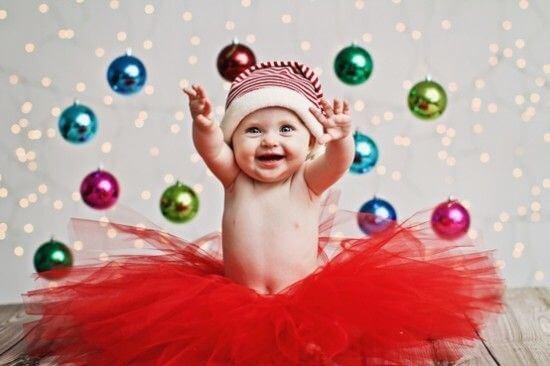 Truques para ter a melhor fotografia de Natal do seu bebê