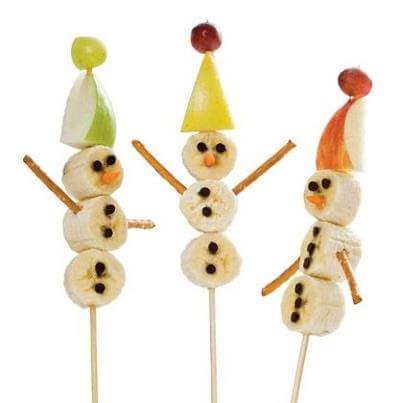 bonecos de neve de Natal