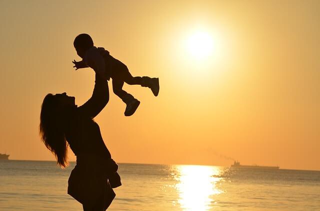 mães felizes
