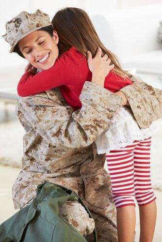 Nunca saia de casa sem se despedir dos seus filhos