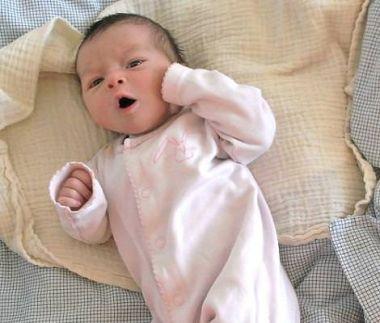 Choro dos recém-nascidos