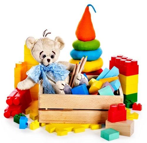 A escolha dos brinquedos de acordo com a idade
