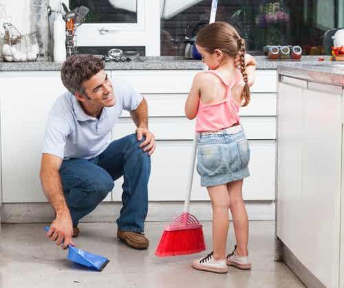 5 coisas que ensinam seus filhos a serem bons pais