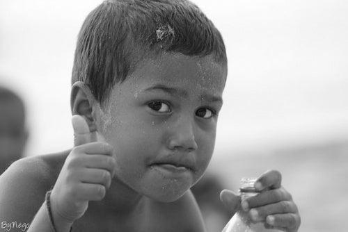 Como agir se meu filho beber água sanitária?