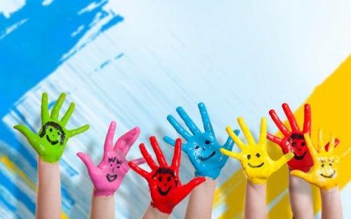 Ensine as crianças a ser felizes, não ricas