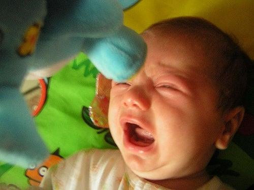 O meu bebê tem os olhos lacrimejantes