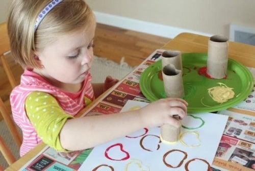 Estimular os dons do meu filhos relacionados asensibilidade artística