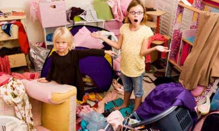 Ensine as crianças a arrumar os brinquedos sozinhas