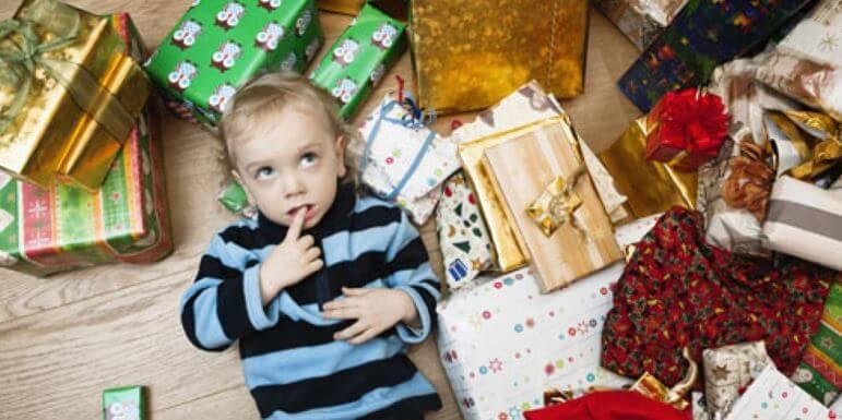 A síndrome da criança hiper-presenteada