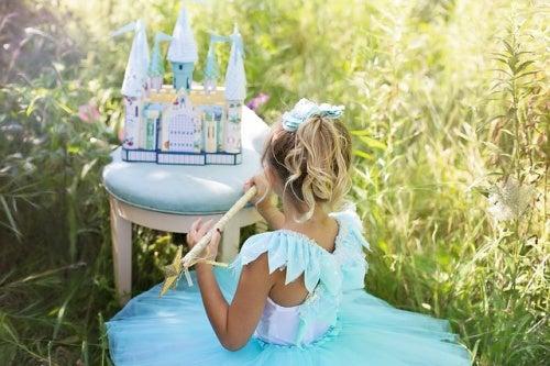 Ensine sua filha que ela não precisa ser uma princesa