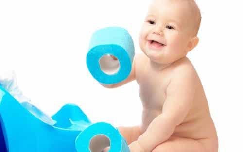Prisão de ventre no bebê: causas e soluções