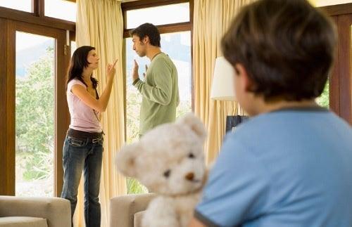 Como sua relação conjugal afeta seus filhos?
