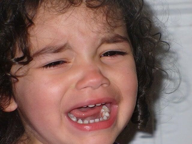A importância de chorar para as crianças