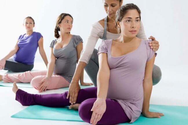 Exercícios físicos indicados durante a gravidez