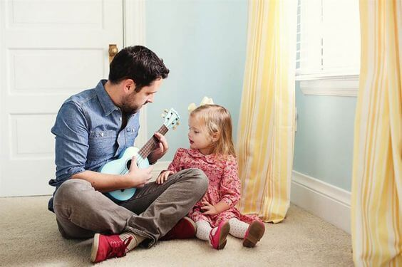 relação entre pai e filha
