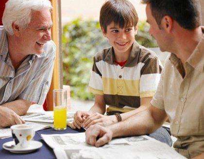 O que fazer quando toda a família quer intervir na criação do seu filho?