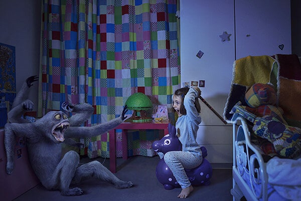 As crianças precisam do seu amor para vencer os medos