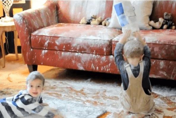 Crianças que têm uma doença ou crianças travessas?