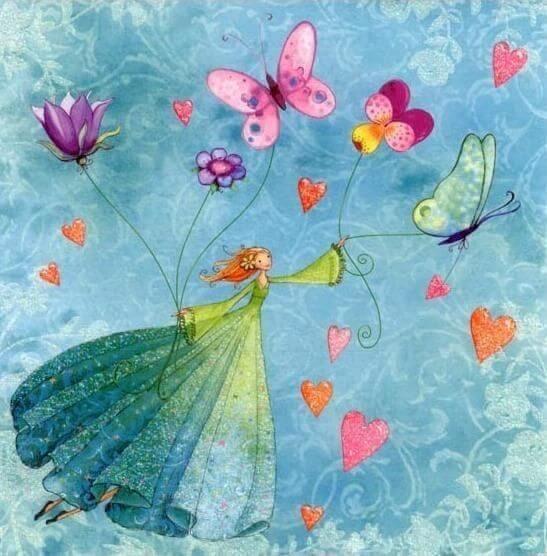 As crianças são borboletas ao vento: permita que voem o mais alto que puderem