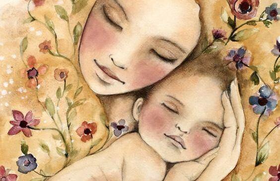 Meu bebê é assim… Só dorme nos meus braços!