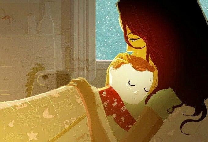 Abraçar, consolar e cuidar não é mimar. Também é educar