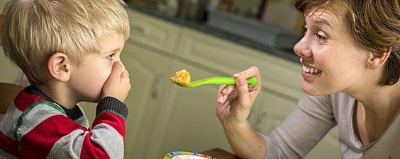 crianças teimosas para comer
