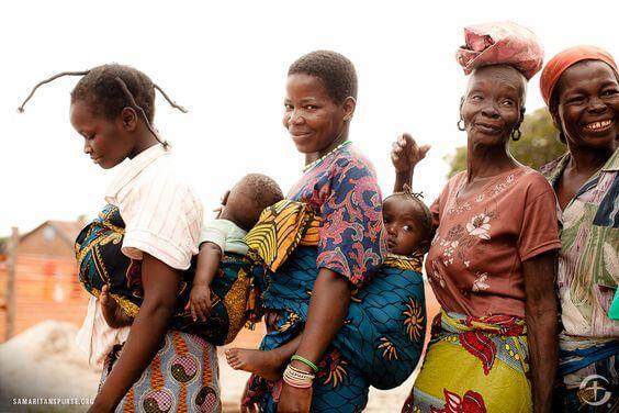 ecografia no Congo