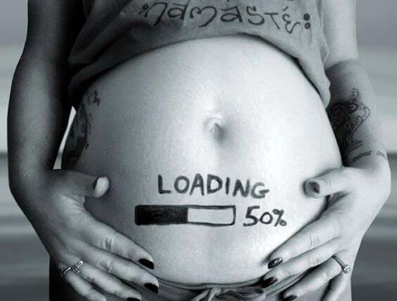 Parei de tentar e consegui. Estou grávida!