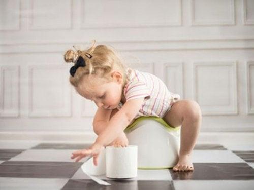 Ninguém está preparado para o momento em que o bebê deixa de usar a fralda