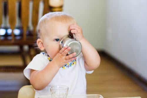Os perigos da desidratação infantil