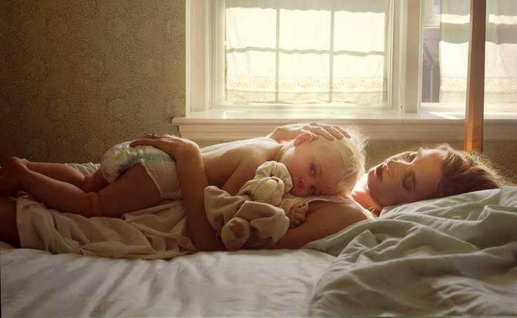 Todos aqueles momentos maravilhosos a sós com o bebê