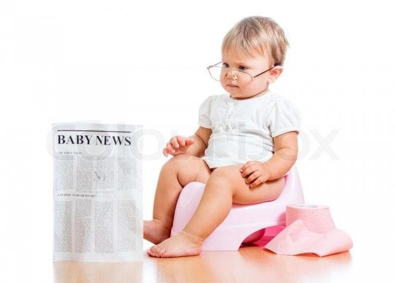 prisão de ventre nos bebês