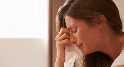 Mães também choram: por medo, estresse ou cansaço