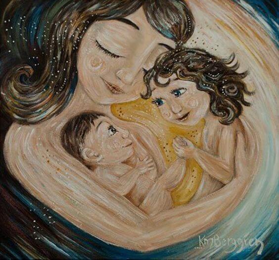 Ser mãe é se tornar uma artesã da vida