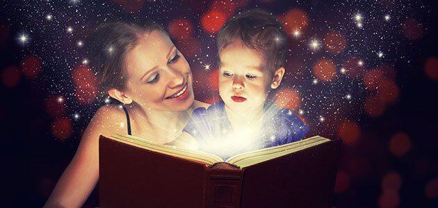 Mamãe, dicas para ser uma boa contadora de histórias