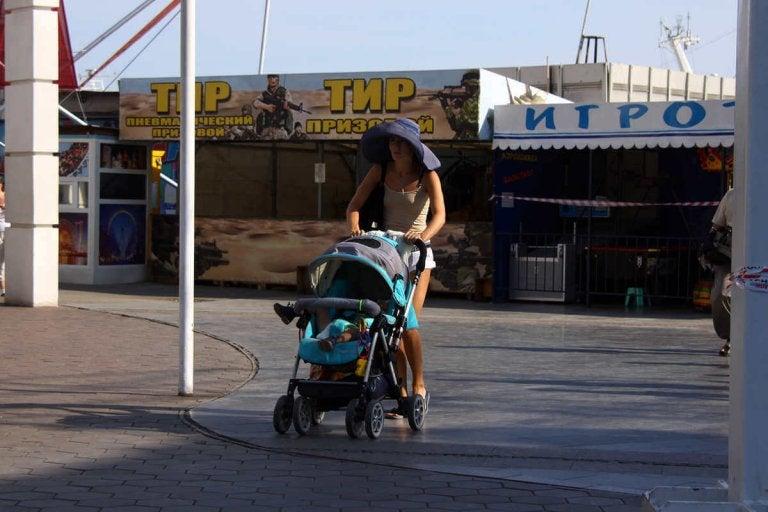 passear com seu bebê