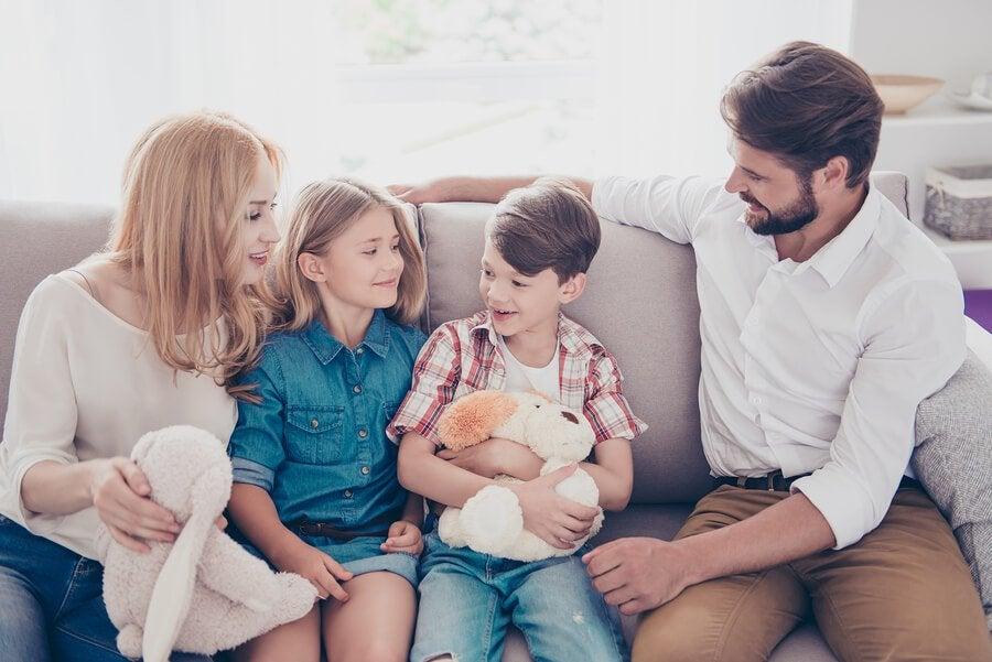 5 valores de toda família feliz