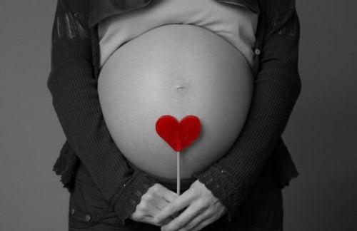 Quais os sentidos mais ativados durante a gravidez