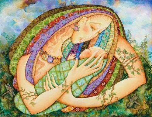 durante a gravidez acontece uma fusão entre mãe e bebê