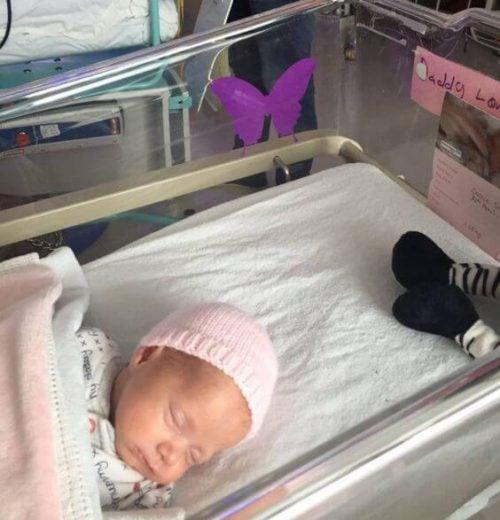 O que significa uma borboleta lilás no berço de um bebê?
