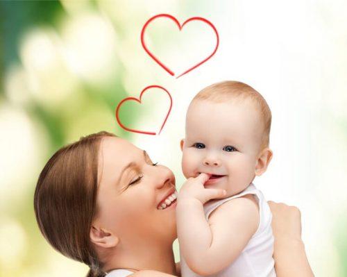 Mamãezite aguda, o bebê só quer ficar com a mamãe