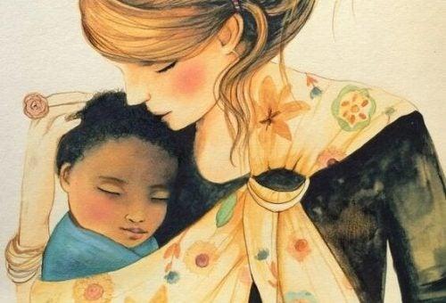 As mamães que cuidam dos filhos também são mulheres trabalhadoras