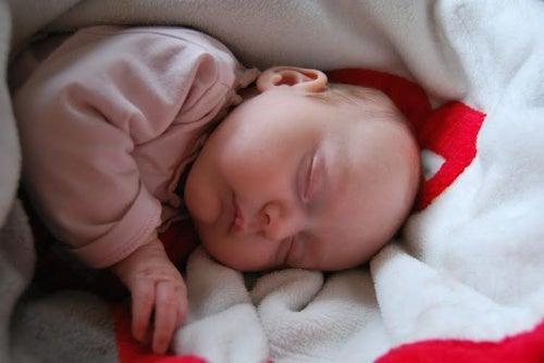 Mioclonias do sono em bebês