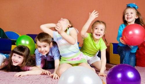 Atividade para as crianças hiperativas