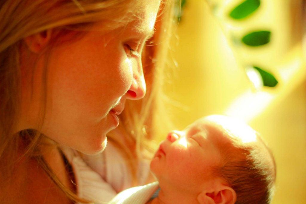 Aproveite seu bebê porque o tempo passa rápido