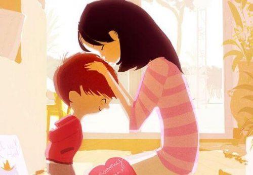 Uma mãe que se ama, vacina seus filhos contra a baixa autoestima